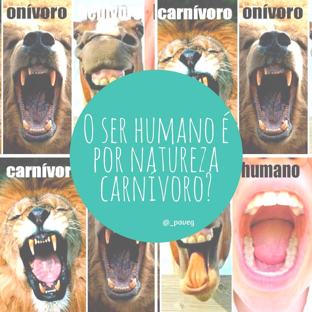 O Ser Humano é Por Natureza Carnívoro?