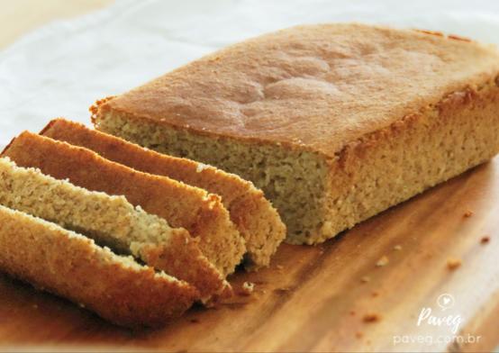 Pão de Forma Vegano e Sem Glúten