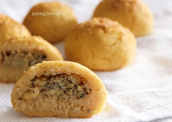 Pão de Batata Vegano (Recheado)