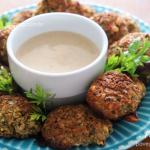 Falafel Assado (bolinho de grão de bico sem glúten)