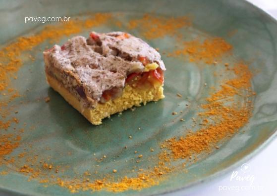 Torta Salgada Vegana (com banana)