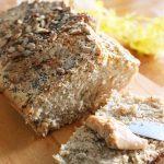 Pão Integral Vegano e Sem Glúten